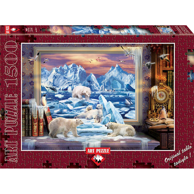 Art puzzle ARCTIC DREAM 1500 pcs - ODDO igračke