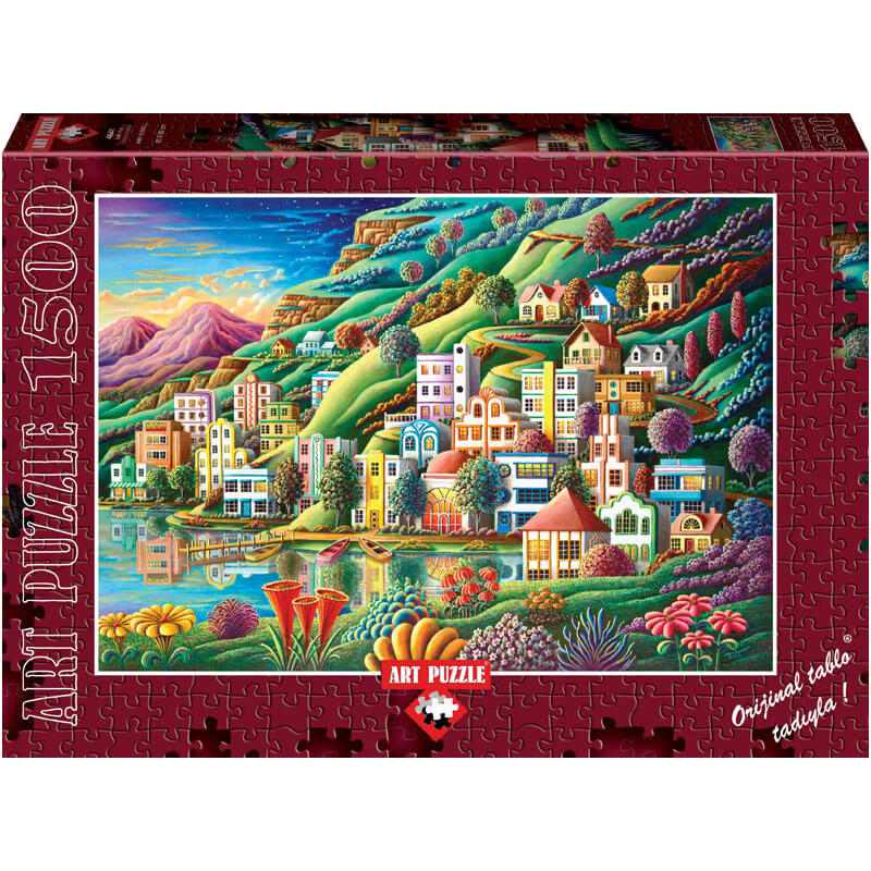 Art puzzle HIDDEN HARBOR 1500 pcs - ODDO igračke