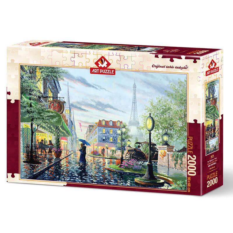 Art puzzle SUMMER RAIN, PARIS 2000 pcs - ODDO igračke