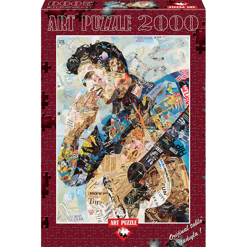 Art puzzle ELVIS 2000 pcs - ODDO igračke