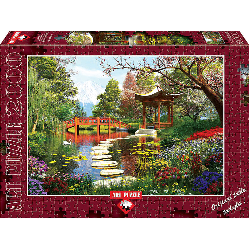 Art puzzle SPRING SEASON 2000 pcs - ODDO igračke