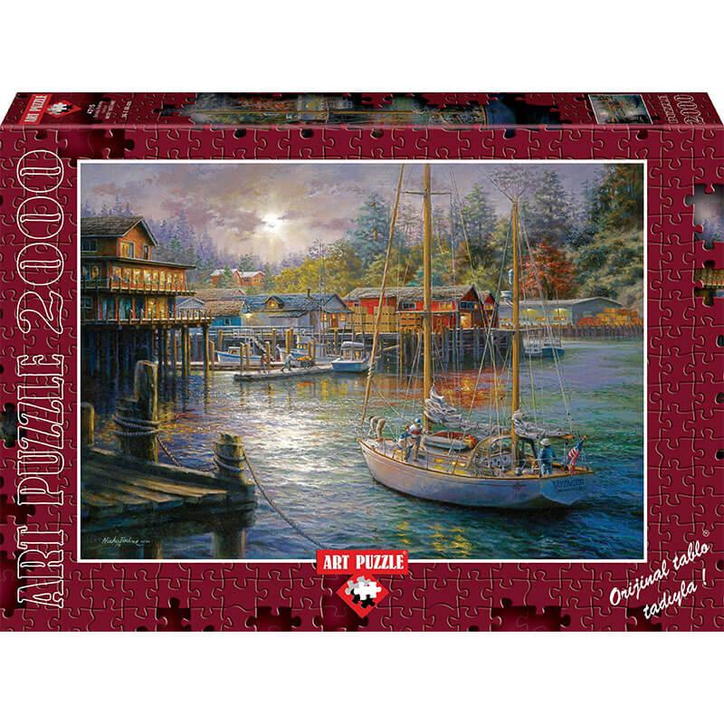 Art puzzle HARBOR 2000 pcs - ODDO igračke
