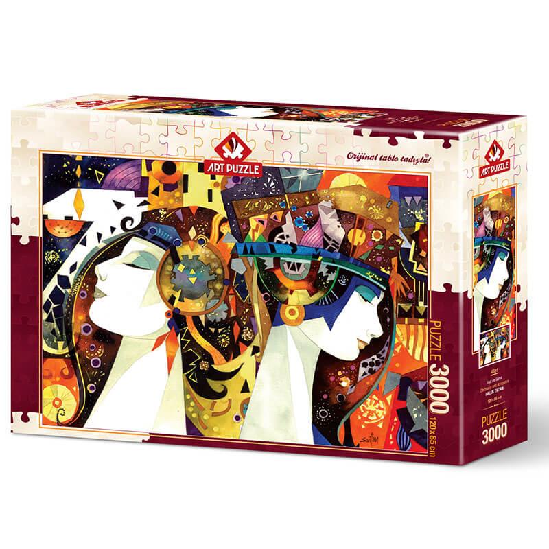 Art puzzle OBSTINACY AND ARROGANCE 3000 pcs - ODDO igračke