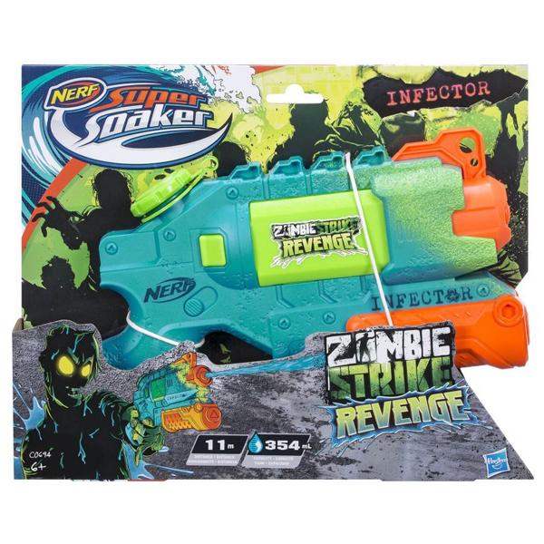 Nerf puška na vodu Super Soaker Zombie Strike Revenge C0694 - ODDO igračke