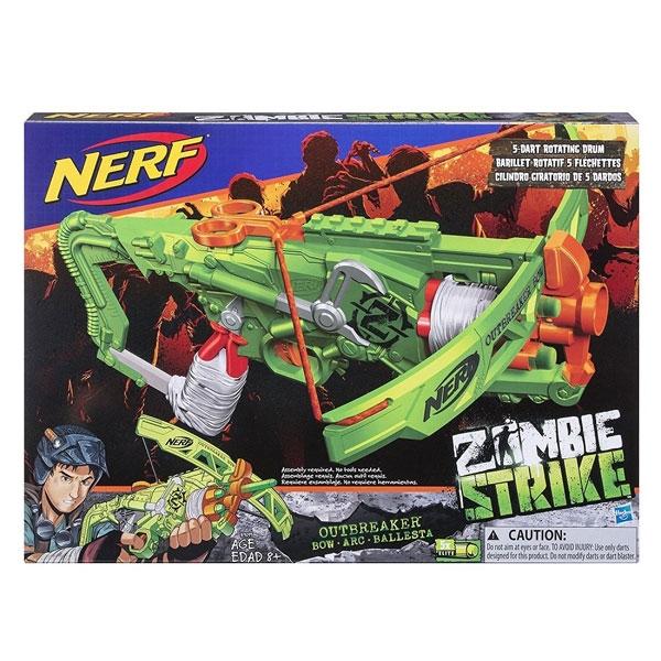 Nerf Zombie Strike Outbreaker Bow Blaster samostrel B9093EU60 - ODDO igračke