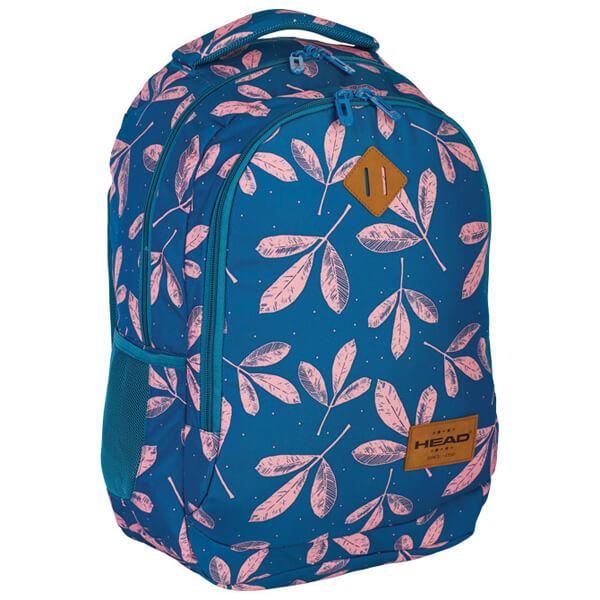 Rančevi đački-notebook sa ojačanjem HD- 60 Head 502018023 plavo-svetlo roze - ODDO igračke