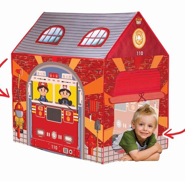 Šatori za decu Vatrogasna stanica 757560 - ODDO igračke