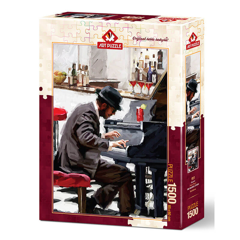 Art puzzle The Pianist 1500pcs - ODDO igračke
