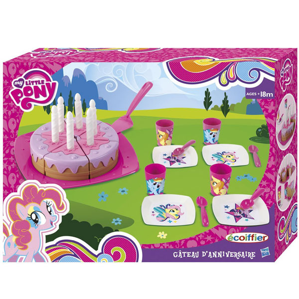 Torta set Ecoiffier My little Pony SM001653      - ODDO igračke
