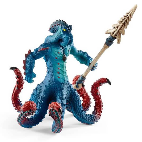 Schleich Kraken Vodeno čudovište sa oružjem 42449 - ODDO igračke