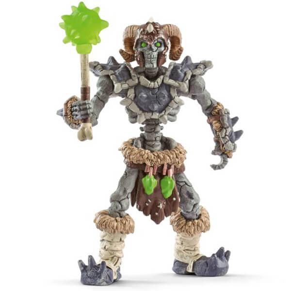 Schleich Kameni skelet sa oružjem 42450  - ODDO igračke