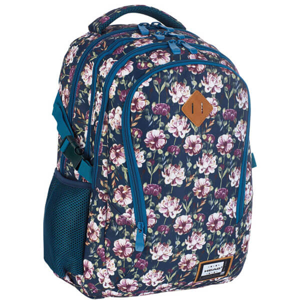 Ranac đački-notebook sa ojačanjem HD-333 Head crni-pastelno roze 502019040 - ODDO igračke
