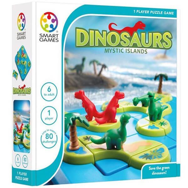 Edukativna igra Smart Games Dinosaurs Mystic Islands MDP18426 - ODDO igračke