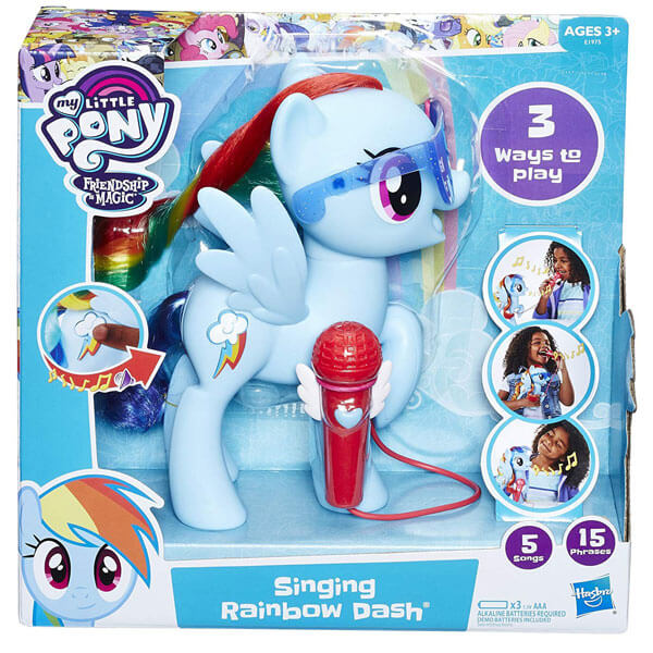 My Little Pony Singing Rainbow Dash E1975 - ODDO igračke