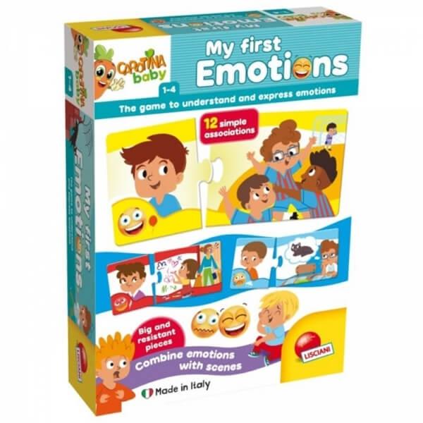 Carotina Edukativna igra Baby Plus emocije 72170 - ODDO igračke