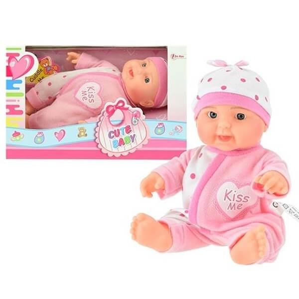 Lutka beba Cute Baby 22cm 02023A - ODDO igračke