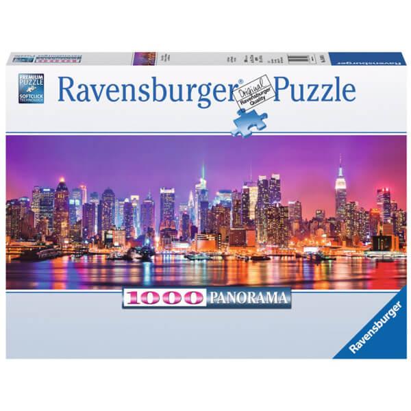 Ravensburger puzzle (slagalice) Menheten noću 1000pcs RA15078 - ODDO igračke