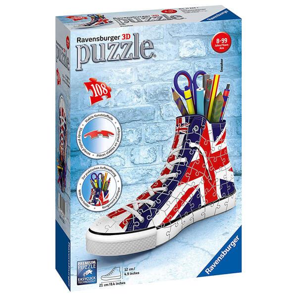 Ravensburger 3D puzzle (slagalice) Patika za olovke sa Britanskom zastavom RA11222 - ODDO igračke