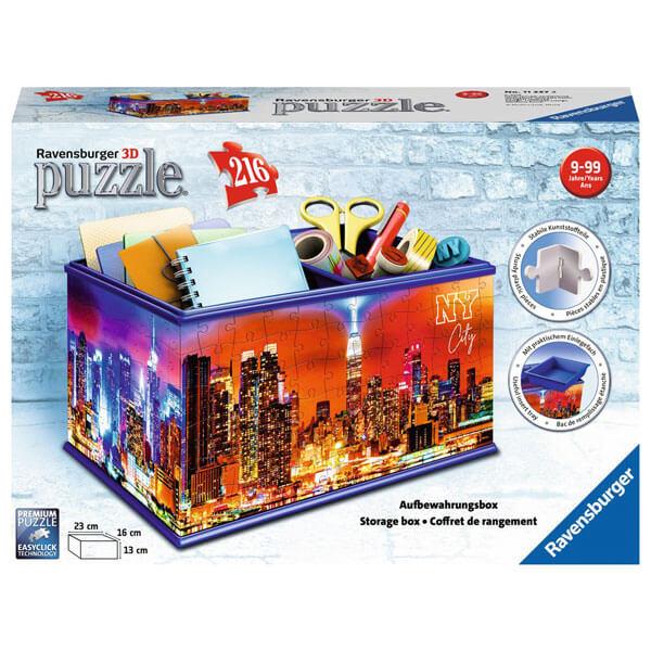 Ravensburger 3D puzzle (slagalice) Kutija za sitnice sa slikom Njujorka RA11227 - ODDO igračke