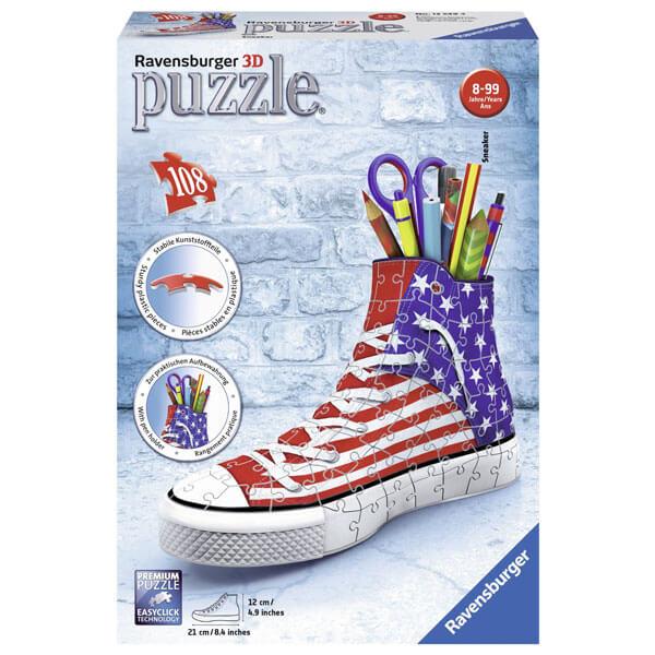 Ravensburger 3D puzzle (slagalice) Patika za olovke sa Američkom zastavom RA12549 - ODDO igračke