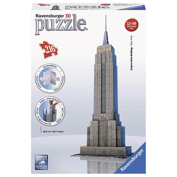 Ravensburger 3D puzzle (slagalice) Empire State Building RA12553 - ODDO igračke