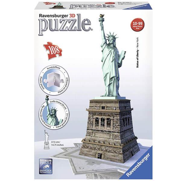 Ravensburger 3D puzzle (slagalice) Statua Slobode RA12584 - ODDO igračke