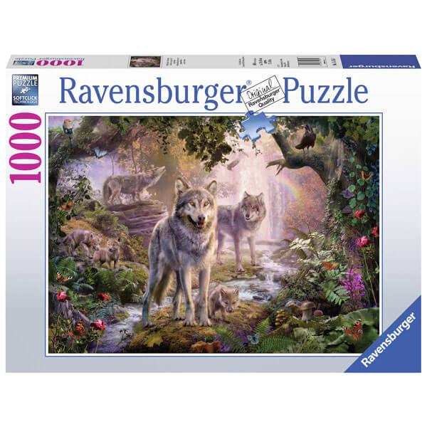 Ravensburger puzzle (slagalice) Vukovi 1000pcs RA15185 - ODDO igračke