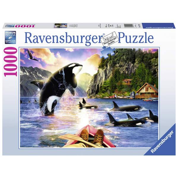 Ravensburger puzzle slagalice 1000pcs  Close Encounters Igra u moru RA15270 - ODDO igračke