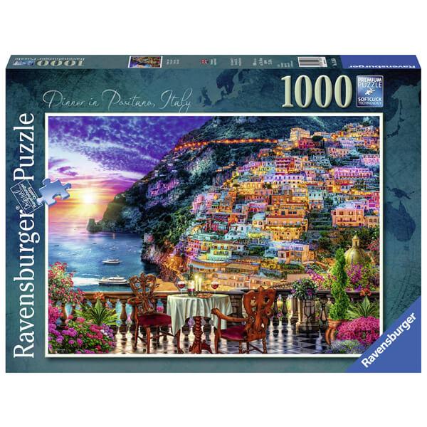Ravensburger puzzle slagalice 1000pcs Dinner in Positano RA15263 - ODDO igračke