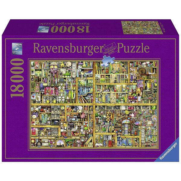 Ravensburger puzzla slagalica 18000pcs Colin Thompson Polica za knjige RA17825  - ODDO igračke