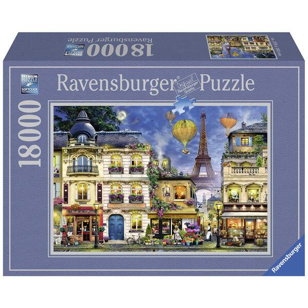 Ravensburger puzzla slagalica 18000pcs Evening Walk in Paris RA17829 - ODDO igračke