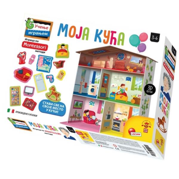 Montessori SR Edukativna igra Moja Kuća Lisciani RS72477 - ODDO igračke