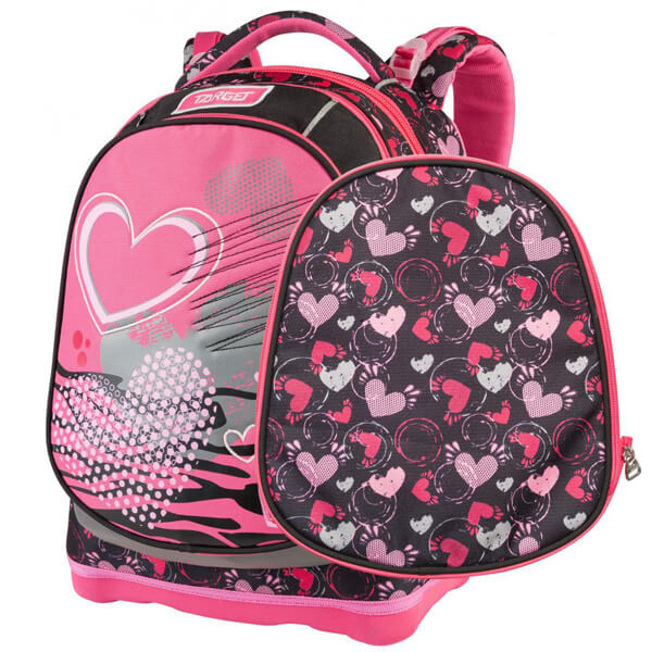 Rančevi za školu Target Superlight 2 Face Petit Within Hearts anatomski 26236 - ODDO igračke