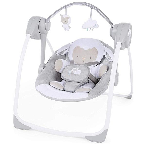 KIDS II Ingenuity Ljujaska Comfort 2 Go - Cuddle Lamb SKU12184 - ODDO igračke