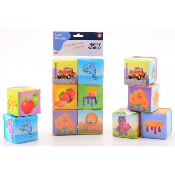 Mekane kocke baby životinje 22007 - ODDO igračke