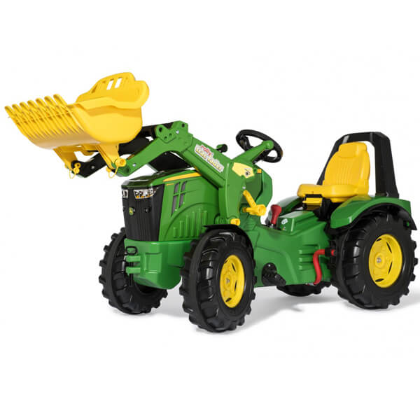 Traktor na pedale Rolly X trak Premium John Deer sa utovarivačem, menjačem i kočnicom 651078 - ODDO igračke