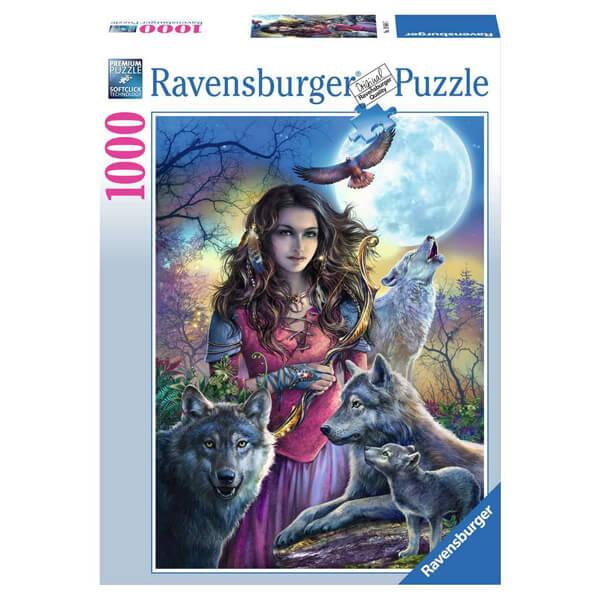 Ravensburger puzzle (slagalice)- Zaštitnica vukova RA19664 - ODDO igračke