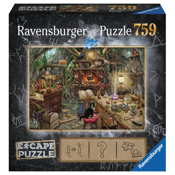 Ravensburger puzzla slagalica 759pcs Escape Room Puzzle Witches Kitchen RA19958 - ODDO igračke