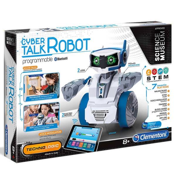Clementoni Science Cyber Talk Bot CL61872 - ODDO igračke