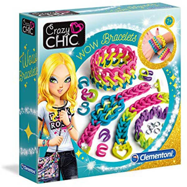 Clementoni Crazy Chic Wow Set za pravljenje narukvica CL18506 - ODDO igračke