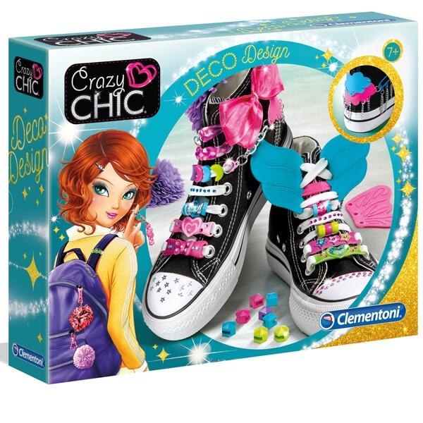 Clementoni Crazy Chic Deco dizajn set CL18501 - ODDO igračke