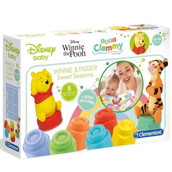 Mekane gumene kocke Clemmy Soft Winnie The Pooh set CL17285 - ODDO igračke