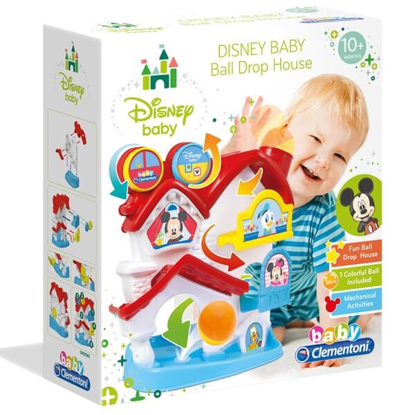 Mickey kućica loptica set Clementoni CL17204 - ODDO igračke