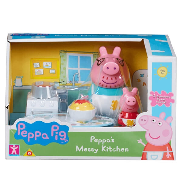 Peppa Pig Neuredna kuhinja set TO06923 - ODDO igračke