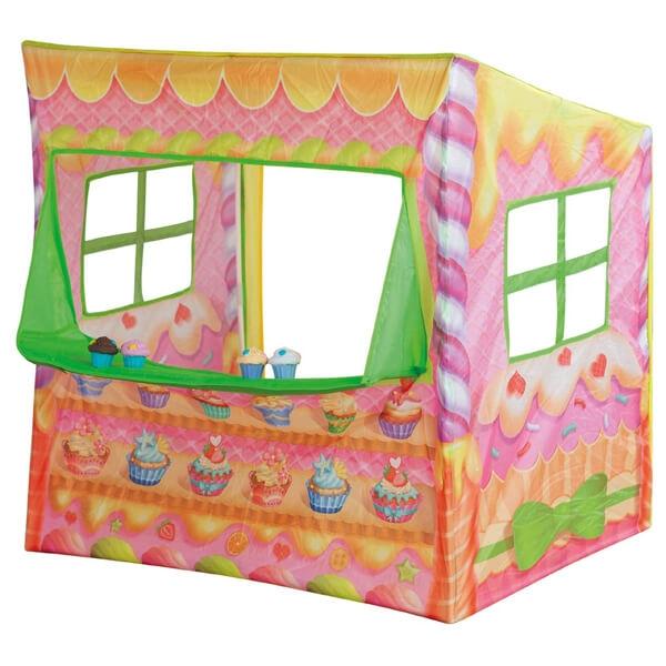 Šator pop up Cupcake Shop sa 4 mafina 100x70x100cm John 79806 - ODDO igračke