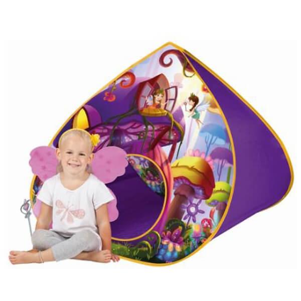 Šator pop up Šumska vila sa krilima i magičnim štapićem 110x100x97cm John 77024 - ODDO igračke