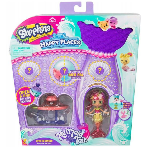 Shopkins Happy Places Surprise Me Pack - Dive in Dining 57393 - ODDO igračke