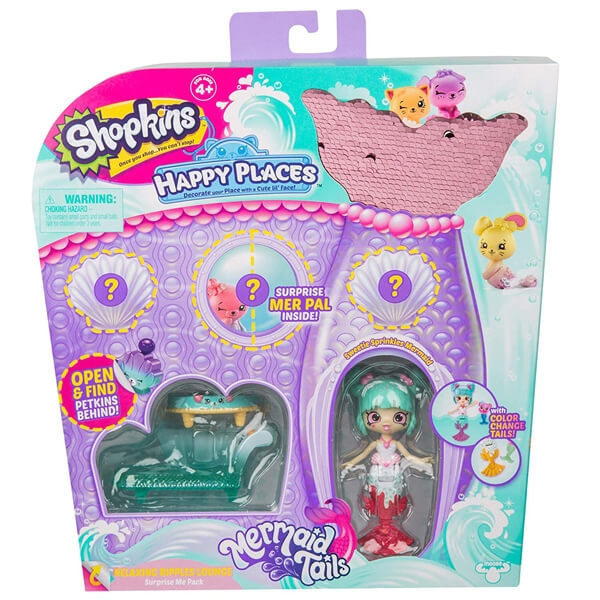 Shopkins Happy Places Surprise Me Pack - Relaxing Ripples lounge 57392 - ODDO igračke