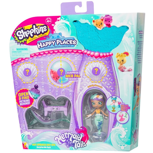 Shopkins Happy Places Surprise Me Pack - Hot Springs Day Spa 57394 - ODDO igračke