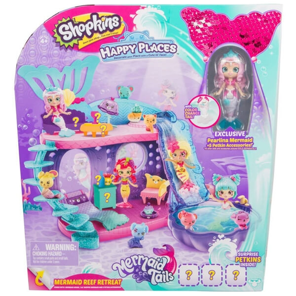 Shopkins Happy Places Mermaid Reef Retreat 57190 - ODDO igračke